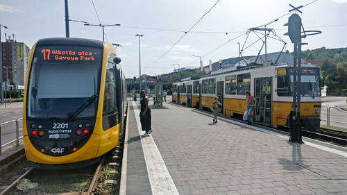Budaest trams