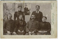 1890 or so - children of Adam & Mary Ann Swank