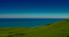 Great Orme (Pino Snorr) Tags: archaeology cotton greatorme love landscape llandudno lumixgvario14140 uk wales blue bluesky clouds color couple dmcg7 g7 green lumix monte outdoor panasonic wife unitedkingdom gb
