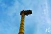 Sri Biligiri Ranganathaswamy Temple (Madhusudan dv) Tags: sri biligiri ranganathaswamy temple brhills architecture indian hindu ambience design geometries mathematical principles nikon d5200 blue sky gold column karnataka gopuram spiritual spectrum symbolic photography ms