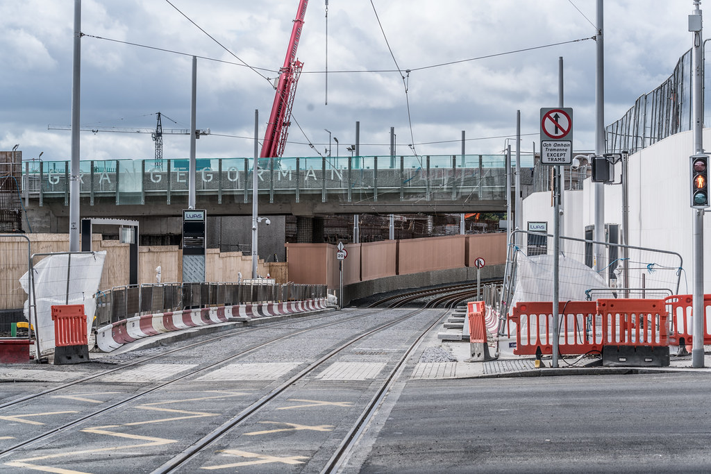 THE NEW LUAS TRAM STOP AT BROADSTONE [TESTING PHASE UNTIL EARLY DECEMBER]-1324714