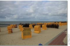 Cuxhaven (Mr.Vamp) Tags: cuxhaven nordsee elbeinfahrt strand meer mrvamp vamp landcape landschaft strandkorb