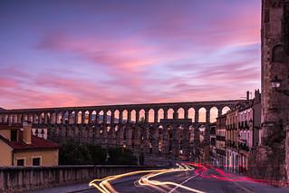 Segovia   |   Acueducto (Light Trail Edition)
