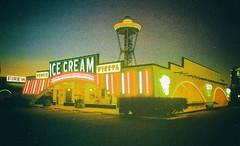 South of the Border, South Carolina (Thomas Hawk) Tags: america icecreamfiesta pedrosicecream southcarolina southoftheborder usa unitedstates unitedstatesofamerica vintage icecream neon postcard restaurant fav10 fav25 fav50
