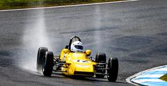 Wet and sunshine (Richard Landherr) Tags: roostertail waterspray formulaford formula ford historic racing baskerville baskervillehistorics motorsport canon