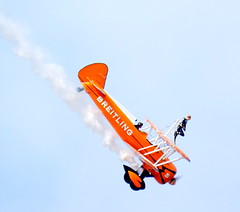 DSCN40599 (dkmcr) Tags: southportairshow southport airshow aircraft aeroplane formation display aerobatic 17th september 2017 flying breitli boeing stearman wingwalker