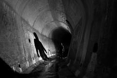 That Hooded DUDE (JAZ-art) Tags: jaz art jazart that hooded dude urban urbex undergound explore light painting melbourne storm water drain nnel tunnels tunnel