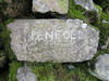 PENFOLD (squeezemonkey) Tags: lakedistrict lake district countryside oudoors scafell scafellpike pike penfold carvedgraffiti name rock moss stonewall