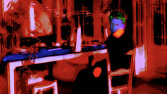 Marie Curie in Her Lab (amarcord108) Tags: amarcord108 madamecurie mariecurie radioactivity laboratory whatisthatglow isitsafe