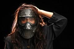 Laura (Studio d'Xavier) Tags: werehere blackbackground laura portrait strobist mask