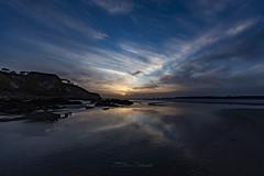 Sunset (khan.Nirrep.Photo) Tags: sunset sky seascape soleil sable sun sea seascapes finistère falaise canon ciel canon6d canon1635mm couché litoral landscape lumière bretagne breizh bleu blue beach iroise