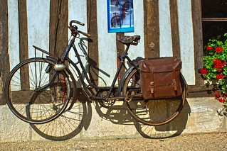 Bicycle of the French post office