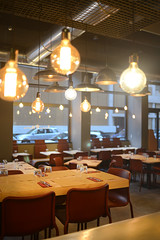 DSC_2429 (fdpdesign) Tags: pizzamaria pizzeria genova viacecchi foce italia italy design nikon d800 d200 furniture shopdesign industrial lampade arredo arredamento legno ferro abete tavoli sedie locali