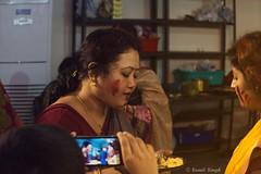 Sindur Khela, Dashami (The.Expressionist) Tags: incredibleindia durgapuja dussehra indianculture incridbleindia indiainlove chennai festival hindu religious religion faith hope ritual monochrome boron sindurkhela bengali