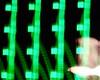 resonance (heroyama) Tags: green light night lights color black dark darkness white abstract image square lines unfocused film experimental pattern パターン 模様 光 照明 緑 発光 夜 闇 暗闇 イメージ 四角 ピンボケ ブレ 手ぶれ 線 黒 白 実験的 実験映画 motion 動き neon ネオン store 店 emission luminescence 色 brilliant 輝き illumination