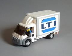Fiat Ducato 3450 LTI (MOCs & Stuff) Tags: lego city town fiat ducato lti cargo box truck
