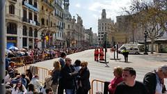 Plaça del Ajuntament during Fallas de Valencia (Ricardolems) Tags: place de ajuntament fallas valencia spain mascleta