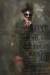 Street Life 3 (jimlaskowicz) Tags: poster impressionistic grunge urban city prague performer artistic jimlaskowicz typography textures