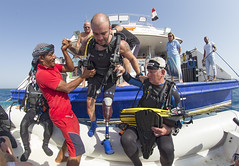 0519a (KnyazevDA) Tags: disability disabled diver diving undersea padi underwater owd redsea buddy handicapped aowd egypt sea wheelchair amputee paraplegia paraplegic travel scuba deptherapy liveaboard safari