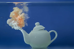tea under the sea... (Antonio Iacobelli (Jacobson-2012)) Tags: tea underwater teapot acrylics colors water splash bari nikon d800 nikkor 60mm