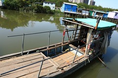 Boat (superzookeeper) Tags: 5dmk4 5dmkiv hk hongkong canoneos5dmarkiv ef2470mmf28liiusm namsangwai boat river water eos yuenlong village digital