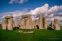 DSC_9941 (AngelPixCn) Tags: angepixcn blue clouds grass heritage historical nationaltrust nikond7100 past place sky stonehenge amesbury england unitedkingdom gb