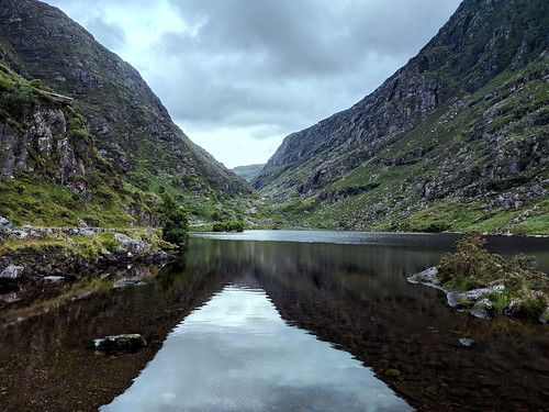 Gap of Dunloe mirrored view