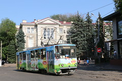 2017-07-01, Odesa, Zaliznychnyi Voksal (Fototak) Tags: tram strassenbahn tatra odesa ukraine tatrayug ligne5 7001