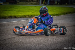 Son karting at Boyndie (Tina Mckay Photography) Tags: banff boyndiedrome scotland aberdeenshire karting racing