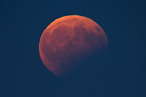 Partial Lunar Eclipse, 2017-08-07