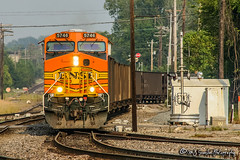 BNSF 5746 | GE ES44AC | BNSF Thayer South Subdivision (M.J. Scanlon) Tags: ge es44ac bnsf5746 cmhdbtm c70571 coal empty bnsf bnsfrailway burlingtonnorthernsantafe burlingtonnorthernsantaferailway cn cnmemphissub canadiannational memphis tennessee digital transportation merchandise commerce business wow haul outdoor outdoors move mover moving scanlon canon eos unit engine locomotive rail railroad railway train track horsepower logistics railfanning steel wheels photo photography photographer photograph capture picture trains railfan