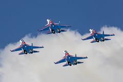 Russian Knights - 115 (NickJ 1972) Tags: zhukovsky maks 2017 airshow aviation russianknights sukhoi su30 flanker
