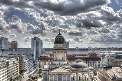 View over Berlin II (HDRforEver) Tags: hdr photomatix canon 600d berlin new interesting august summer sommer sky clouds wolken bluesky himmel city skyline deutschland germany