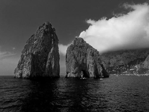 Capri Faraglioni Rock Formations | 170820-2209-jikatu
