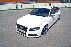 my Audi B8 (imola-S4) Tags: audi b8 8k bagged airride rh an steplips s4 interior snowwhite dropitlikeitshot