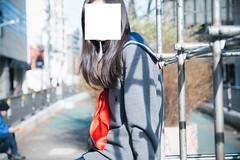 High School Girl Not Allowed To Show Her Face (Dick Thomas Johnson) Tags: japan tokyo shibuya harajuku 日本 東京 渋谷 原宿 highschoolgirl 女子高生 jk highschoolstudent 高校 高校生 highschool student 制服 uniform ポートレート portrait ジャングルジム junglegym