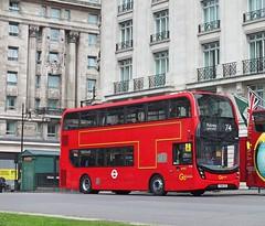 Go Ahead London General - EH98 - YY66OZD (Waterford_Man) Tags: eh98 yy66ozd e400h hybrid goaheadlondongeneral