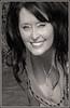 (Cliff Michaels) Tags: nikon photoshop pse9 face woman portrait headshot pretty bw black white
