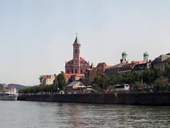 Ship excursion around Passau (aniko e) Tags: danube duna donau inn ilz ship water river town historic stpaulschurch passau