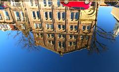 Upside down (++Rob++) Tags: haarlem bakenessergracht blauw blue reflectie reflection