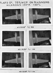 convair negative (San Diego Air & Space Museum Archives) Tags: aviation aircraft airplane airliners airlines propliner convair convaircv240 convair240 cv240 windtunnelmodel