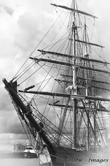 Kaskelot from Bristol.2_wm (madmax557) Tags: tallships eastanglia eastcoast uk england greatbritain greatyarmouth blackwhite