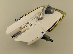 Space Flounder WIP 1 (Tammo S.) Tags: lego moc wip spaceflounder canoe starfighter space scifi