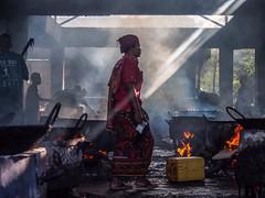 Tanzania 2015 (hunbille) Tags: tanzania dar es salaam birgittedaressalaam1lr daressalaam kivukoni fish market kivukonifishmarket fishmarket smoke pot cooking cy2