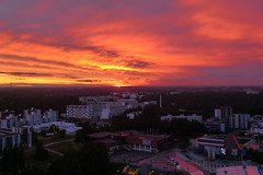 Sunset (timo_w2s) Tags: helsinki finland summer cirrus vuosaari sunset evening