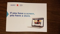 If you have a screen, you have a store. (dankeck) Tags: mailing flier flyer closing outofbusiness online advertisement appeal