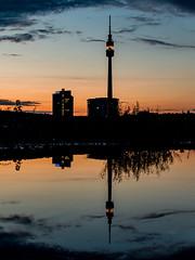 Florianturm, Dortmund (DanGrothe) Tags: florianturm dortmund reflection