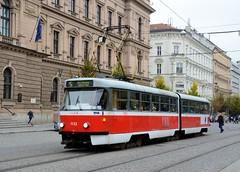 Brno, Joštova 21.10.2016 (The STB) Tags: brno öpnv citytransport publictransport urbantransport tram tramway tramvaj strassenbahn strasenbahn tranvía
