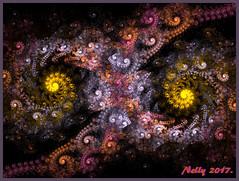 *Falls...night!* (MONKEY50) Tags: fractal fall abstract spiral colors digital 172017 autumn shockofthenew hypothetical artdigital netartii flickraward musictomyeyes contactgroups autofocus