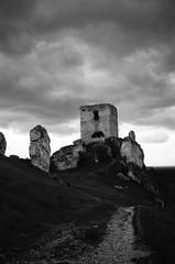 Ruiny Zamku Olsztyn (WMLR) Tags: pentax espio 120 sw fuji xtra 400 ruiny zamkek olsztyn bw analog film